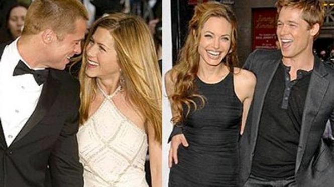 Brad Pitt /Jennifer Aniston/Angelina Jolie