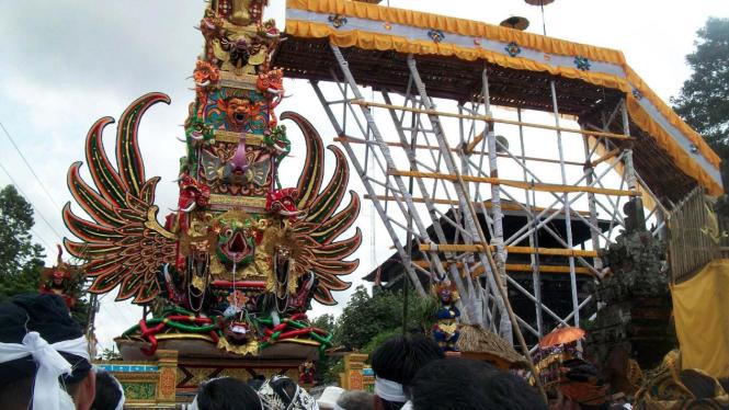 Ngaben Raja Ubud di Bali