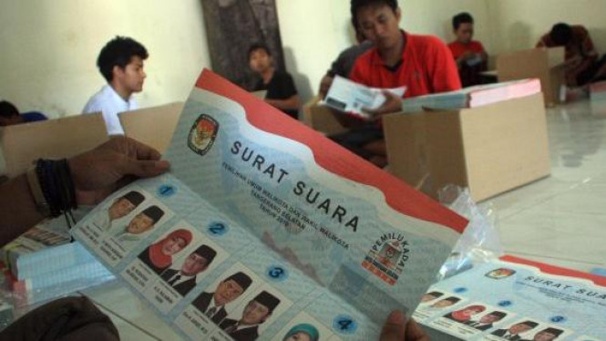 Pilkada Tangerang/Ilustrasi.
