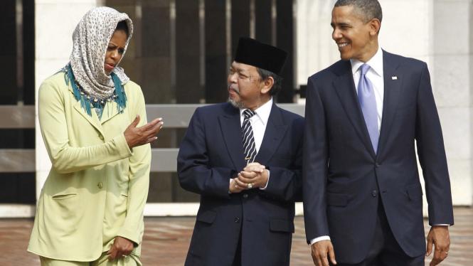 Michelle Obama, Imam Besar Istiqlal, dan Obama