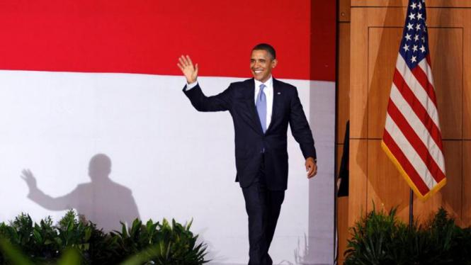 Obama tinggalkan Indonesia