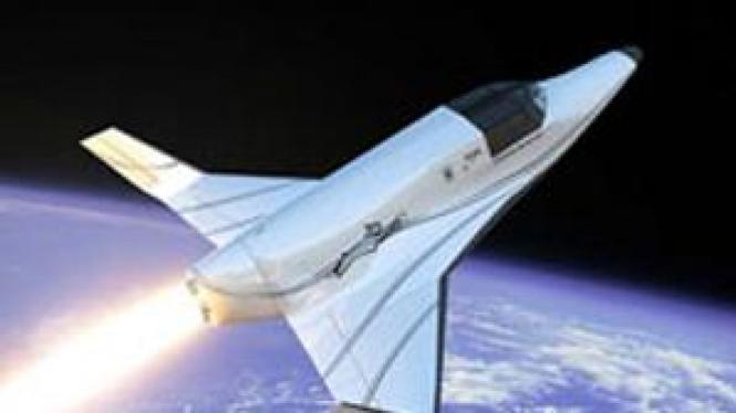 Lynx, konsep pesawat yang mengangkut manusia ke luar angkasa