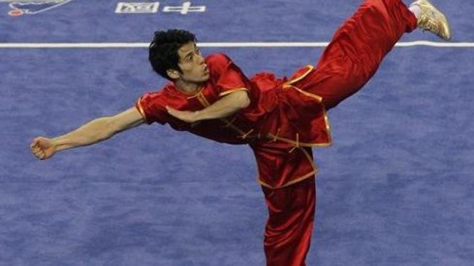 olah raga wushu di Asian Games XVI China