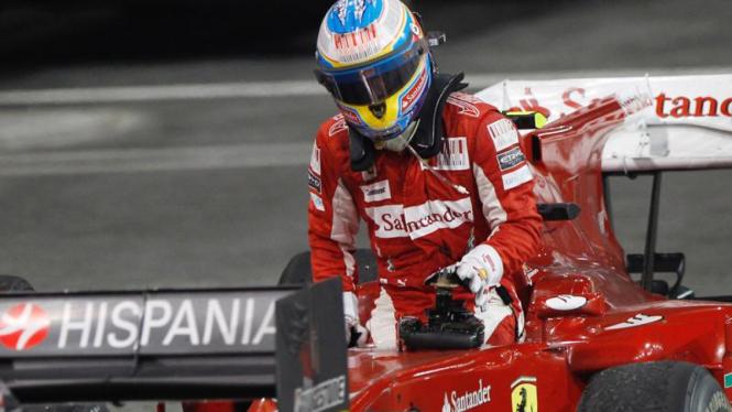 Alonso Gagal Juara