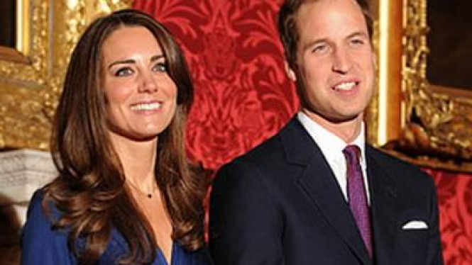 Pangeran William & Kate Middleton
