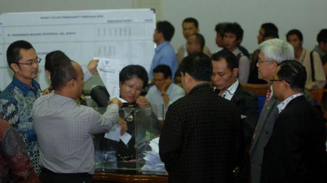 Voting Pemilihan Pimpinan KPK