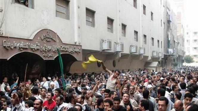 Demosntrasi di ibukota Mesir, Kairo
