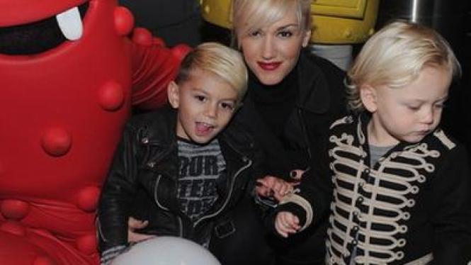 Gwen Stefani & Kedua Putranya