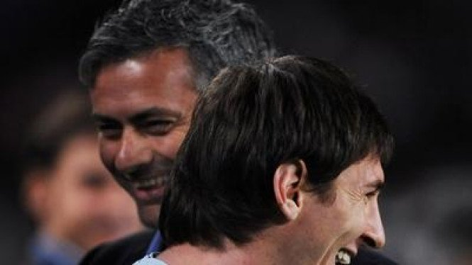 Jose Mourinho  & Lionel Messi