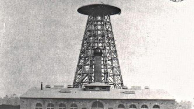 Menara Wardenclyffe buatan Nikola Tesla