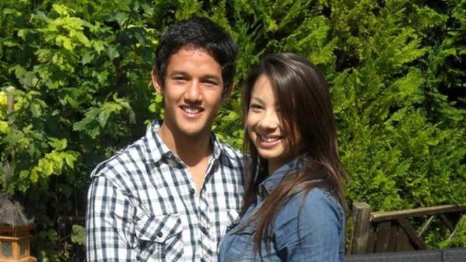 Irfan Bachdim dan Jennifer Kurniawan