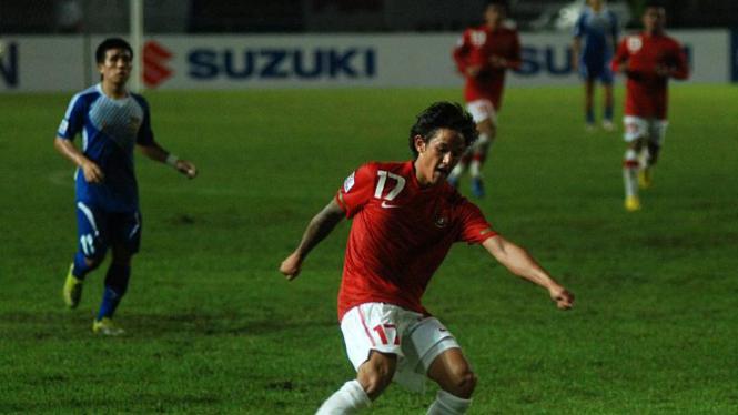 Irfan Bachdim Pemain Timnas Indonesia