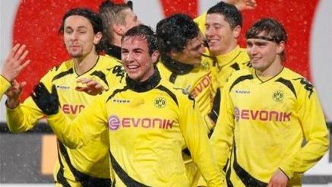 Para pemain Borussia Dortmund
