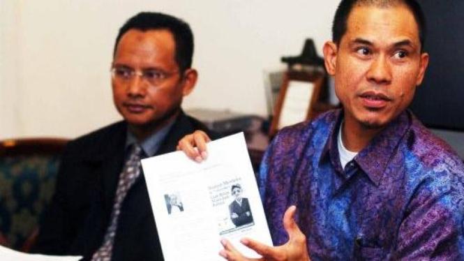 Munarman dan Luthfie Hakim