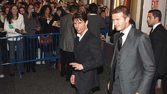 Tom Cruise dan David Beckham