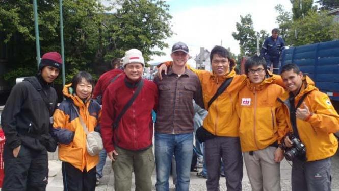 Tim ISSEMU penakluk puncak tertinggi Antartika