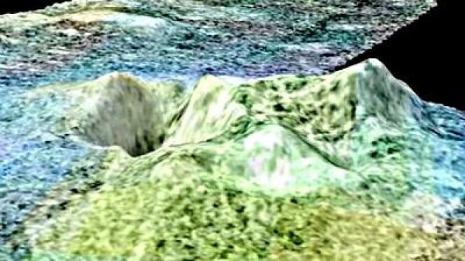 Gunung Berapi Es Ditemukan di Bulan Saturnus