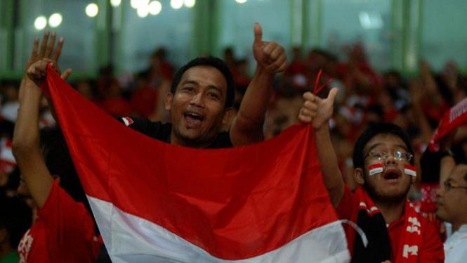 Supporter Timnas: Indonesia Lawan Filipina