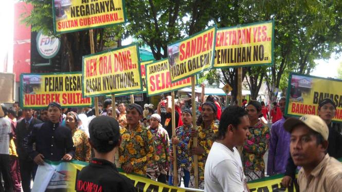 Sidang Rakyat di Bantul  menyikapi RUUK Yogyakarta
