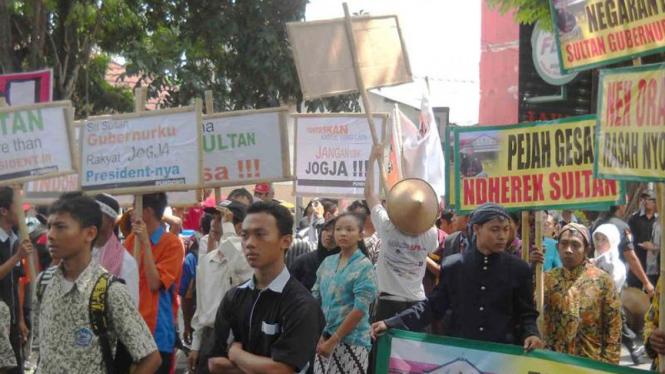 Sidang rakyat Bantul untuk penetapan jabatan Gubernur DIY