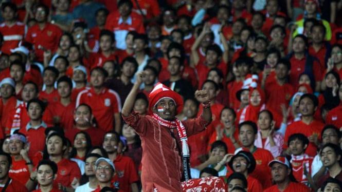 Supporter Timnas: Indonesia Lawan Filipina Leg II
