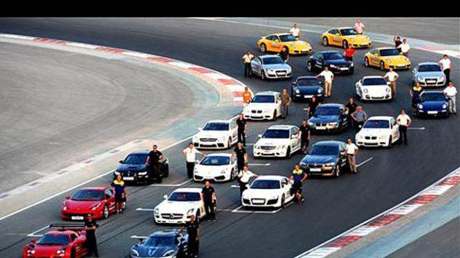 Pengujian Mobil-Mobil Sport Mewah [Khusus Gallery]