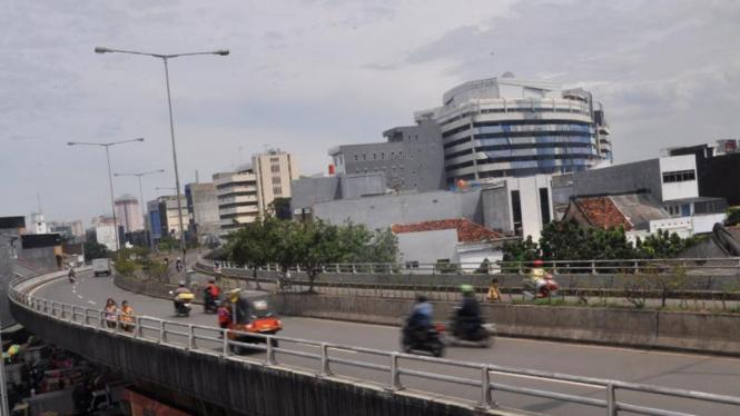 Fly Over Pasar Pagi, Jakarta Barat
