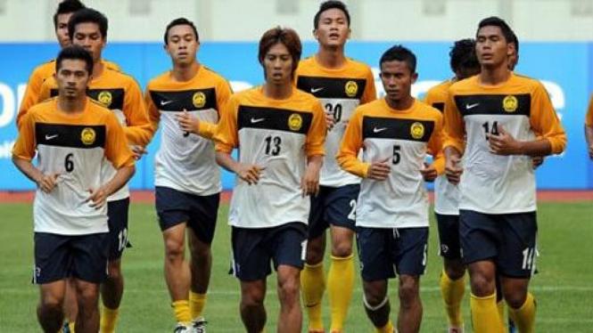 Timnas Malaysia latihan