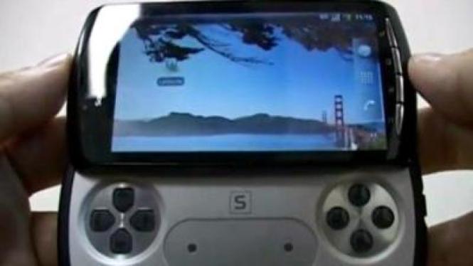 Foto perkiraan desain PlayStation Phone