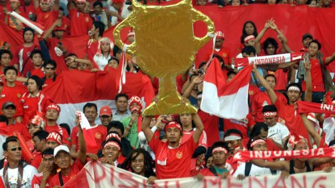 Suporter Indonesia di Malaysia