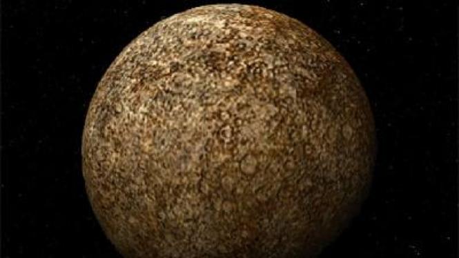 Merkurius, planet terkecil di tata surya semakin menciut