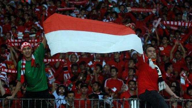 Supporter Timnas: Indonesia Lawan Malaysia Leg II