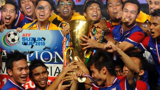 Luapan kegembiraan Timnas Malaysia