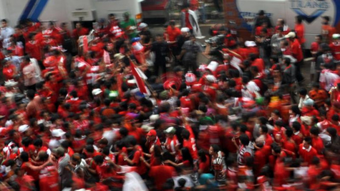 Suporter Indonesia Padati GBK