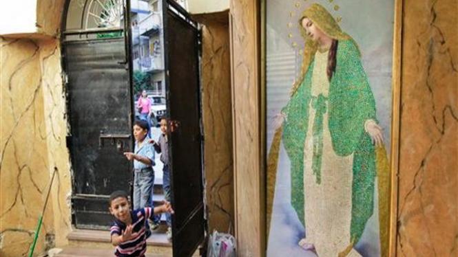 Gereja Kristen Koptik di Kota Alexandria, Mesir