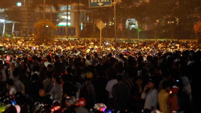 Perayaan Tahun Baru 2011 Di Jakarta