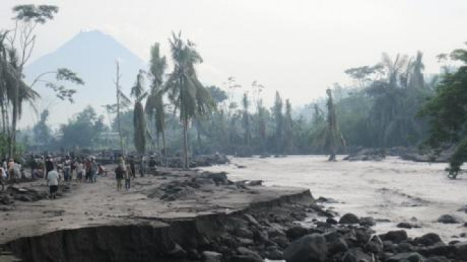 Aliran lahar dingin Merapi