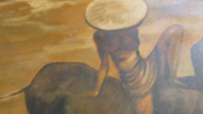 Lukisan Basuki Abdullah palsu.