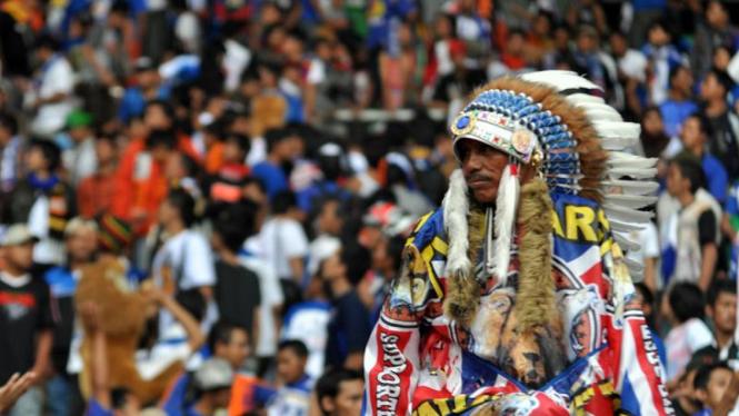 Suporter Arema Indonesia