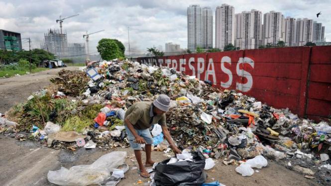 Sampah di Jakarta