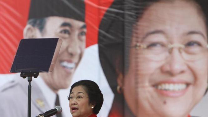 Ketua umum DPP PDIP Megawati Soekarno Putri