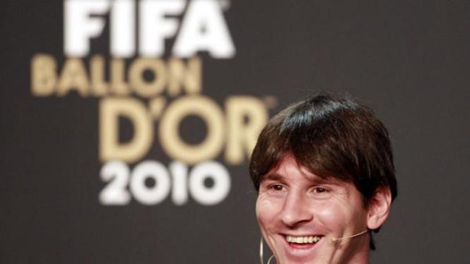 Lionel Messi, Pemain Terbaik Dunia 2010