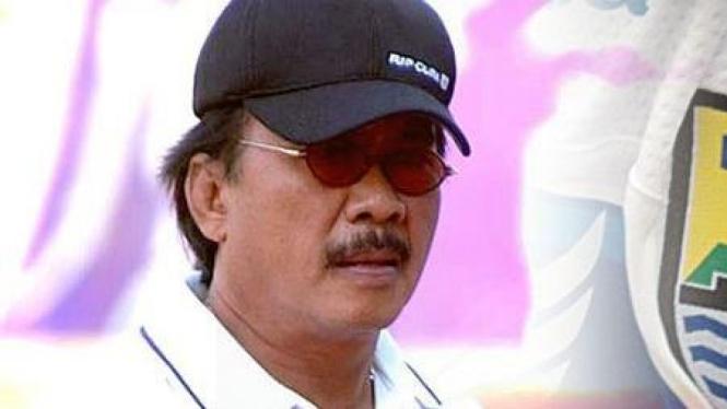 Pelatih Persib Bandung Daniel Roekito