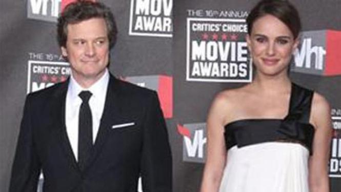 Colin Firth dan Natalie Portman