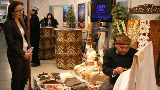 Anjungan Indonesia di Bursa Wisata Internasional Lillestrøm, Norwegia