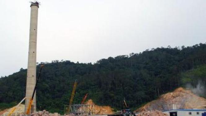 pembangunan PLTU Teluk Sirih 2x112 Mega watt di Sumatera Barat