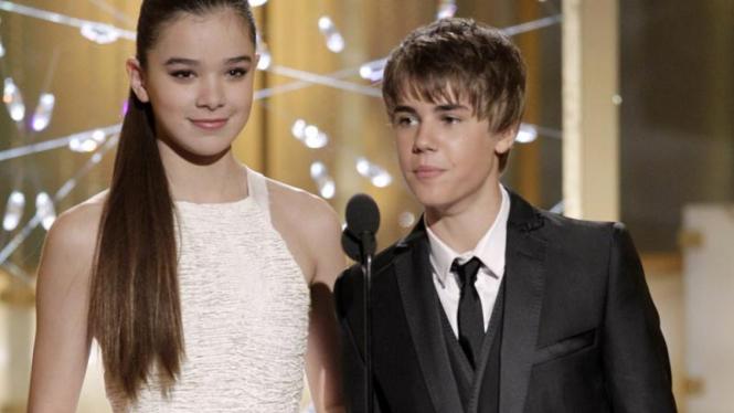 Hailee Steinfeld dan Justin Bieber