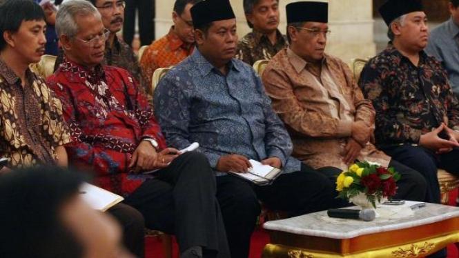Tokoh Lintas Agama bertemu SBY di Wisma Negara