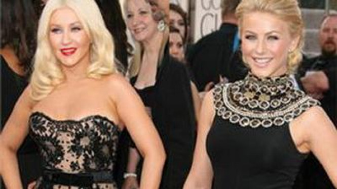 Christina Aguilera & Julianne Hough