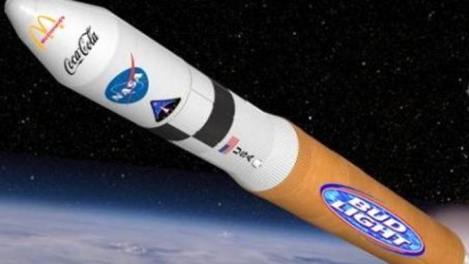 Peluang iklan di pesawat luar angkasa